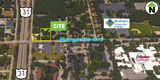 1.11 Acre Development Site - US 31 in Muskegon- PRICE REDUCED!