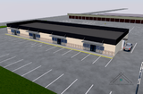 New Retail Building with Drive Through